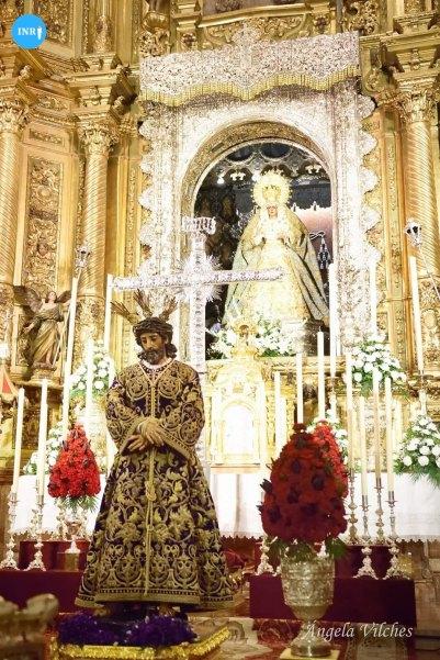 Exaltación de la Santa Cruz del Señor de la Sentencia de la Macarena // Ángela Vilches