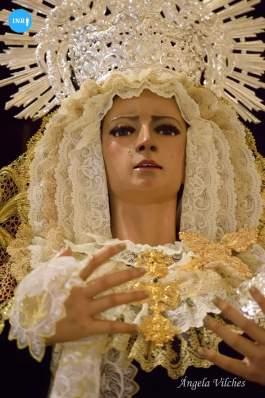 Virgen del Confinamiento // Ángela Vilches