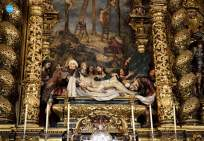 Retablo de la iglesia de San Jorge del hospital de la Caridad // Ángela Vilches