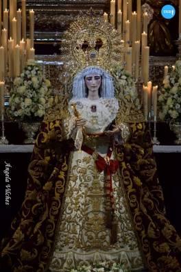 Veneración a la Virgen de las Mercedes de Santa Genoveva // Ángela Vilches