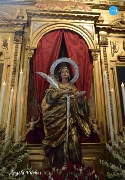 Veneración a Santa Lucía // Ángela Vilches