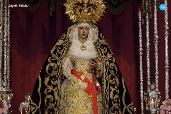 Veneración a la Virgen de los Dolores del Cerro // Ángela Vilches