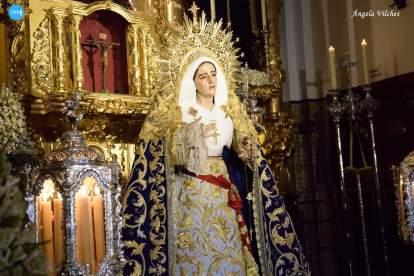 Veneración de la Virgen de los Dolores y Misericordia de Jesús Despojado // Ángela Vilches