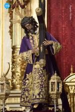 Señor del Gran Poder con la túnica de los devotos // Ángela Vilches