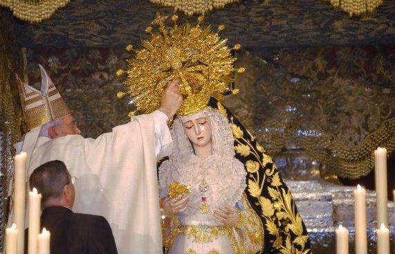 Coronación Virgen del Rosario de Monte-Sión