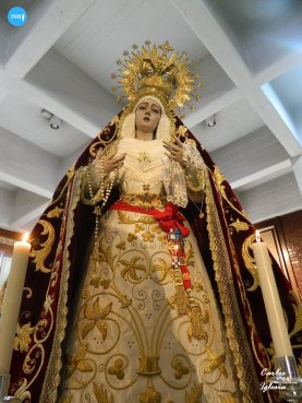 Virgen de la Misericordia de Paz y Misericordia de Rochalambert // Carlos Iglesia