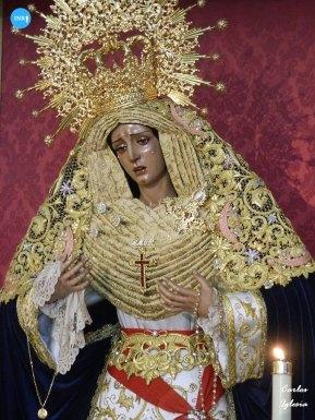 Veneración de la Virgen del Amor de Pino Montano // Carlos Iglesia
