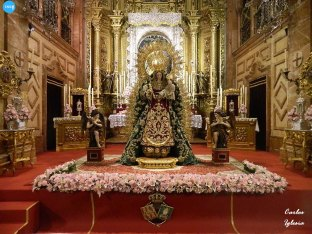 Veneración a la Virgen del Rosario de la Macarena // Carlos Iglesia