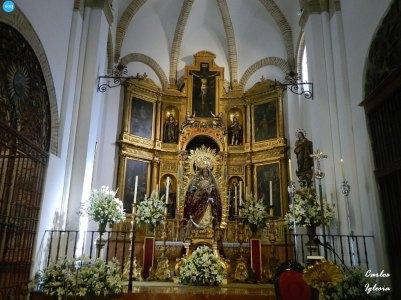 Virgen del Rosario del Carmen de Santa Catalina // Carlos Iglesia