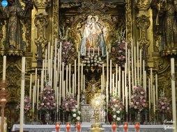 Virgen del Rosario de los Humeros en Santa Rosalía // Carlos Iglesia