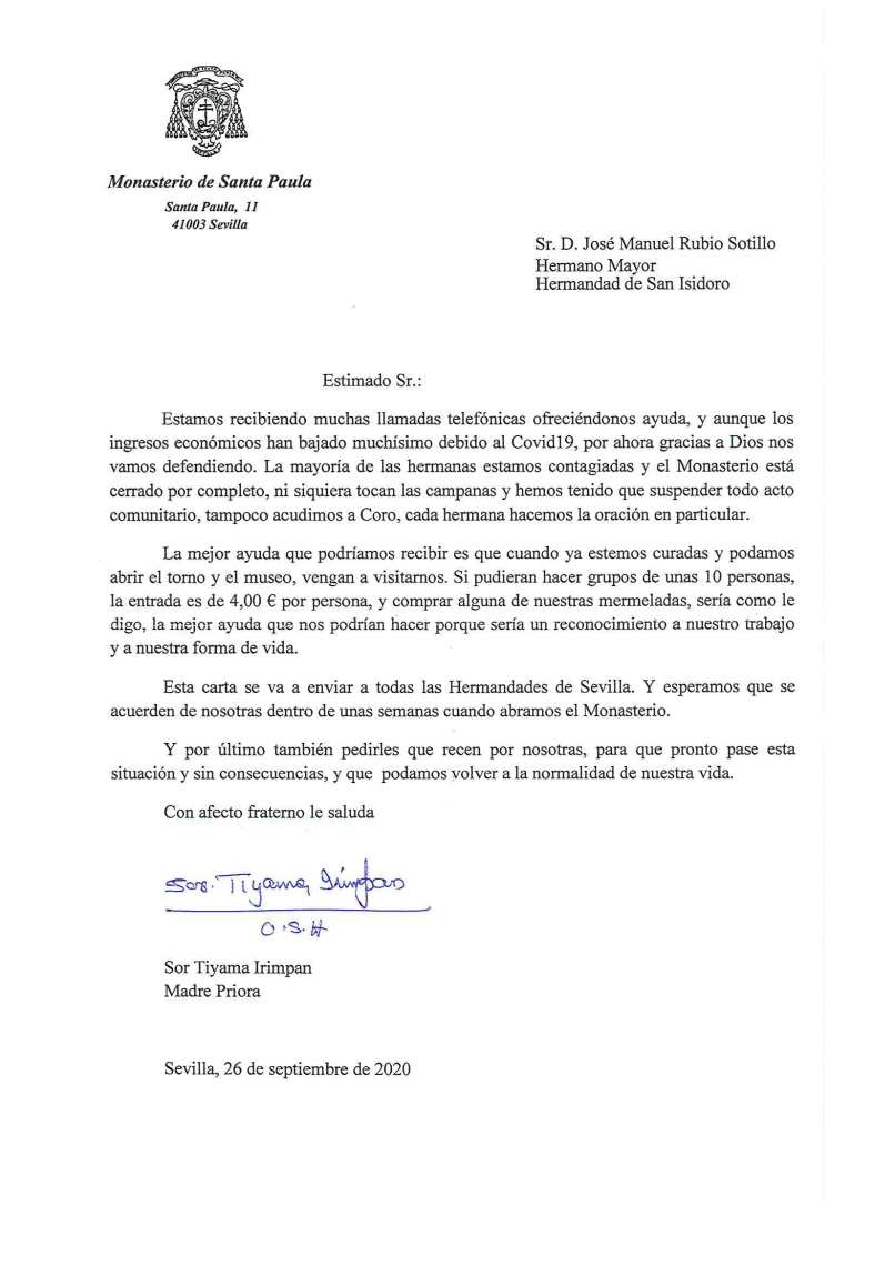 Comunicado Santa Paula