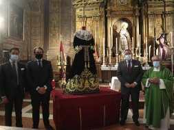 Nueva saya para la Virgen del Valle