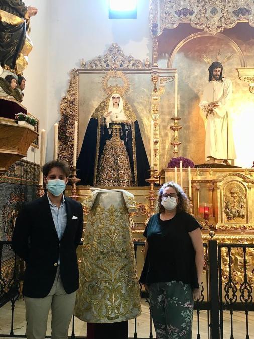 Saya para la Virgen de la Salud de San Gonzalo