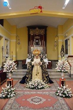 Veneración de la Virgen del Rosario de la Milagrosa // Benito Álvarez