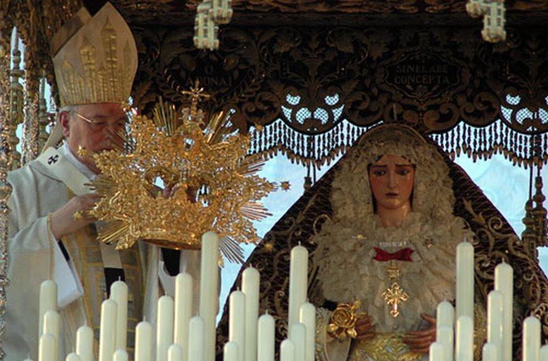 Coronación de la Virgen de la O