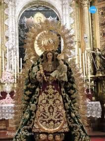 Veneración a la Virgen del Rosario de la Macarena // Ángela Vilches