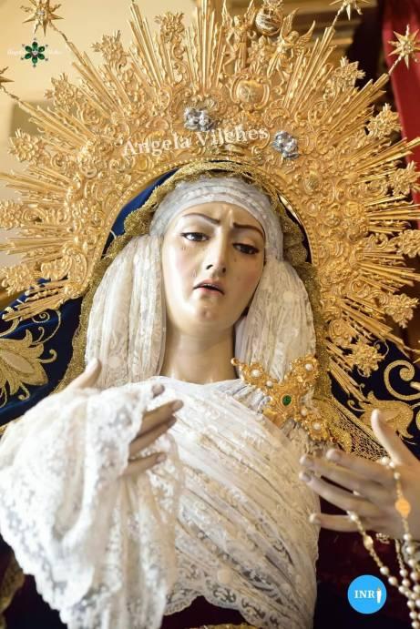 Virgen del Mayor Dolor de las Aguas // Ángela Vilches
