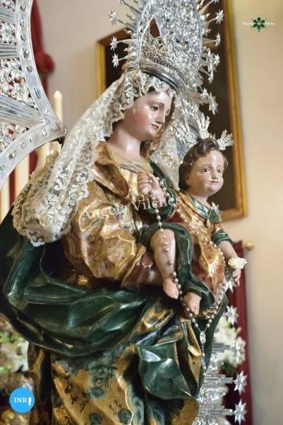Veneración a la Virgen del Rosario de las Aguas // Ángela Vilches