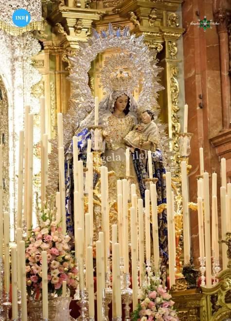 Triduo de la Virgen del Rosario de la Macarena // Ángela Vilches