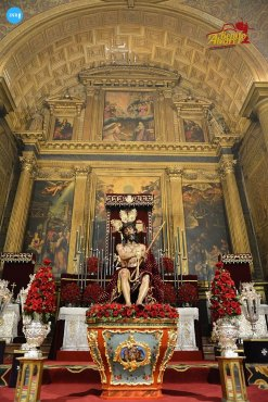Veneración al Cristo de la Coronación de Espinas del Valle // Benito Álvarez
