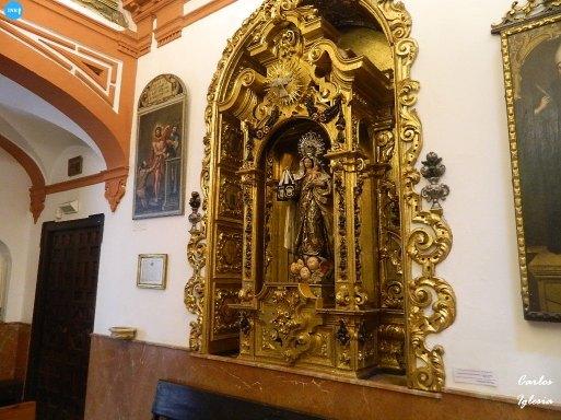 Retablo de la Virgen del Carmen de la capilla de la Orden Tercera // Carlos Iglesia