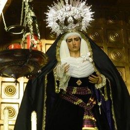 Virgen de la Hiniesta de luto // Carlos Iglesia