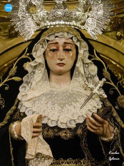Virgen de la Soledad de San Lorenzo // Carlos Iglesia
