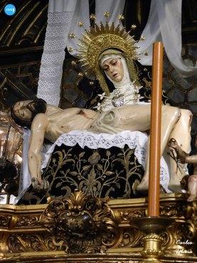 Virgen de los Dolores y Cristo de la Providencia de los Servitas // Carlos Iglesia