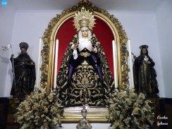 Virgen de la Soledad de los Servitas // Carlos Iglesia