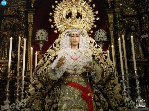 Veneración de la Virgen de la Caridad del Baratillo // Carlos Iglesia