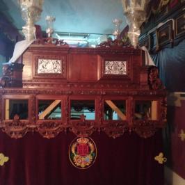 Nuevas jarras y banderín de la Humildad de la Espiga de Sevilla Este