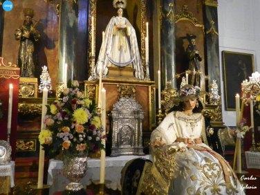 Veneración de la Pastora de San Antonio // Carlos Iglesia