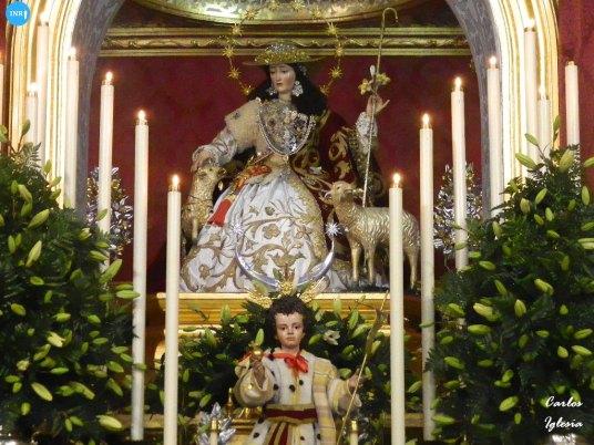 Veneración de la Pastora de Santa Marina // Carlos Iglesia