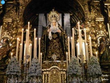 Veneración de la Virgen de la Soledad de los Servitas // Carlos Iglesia