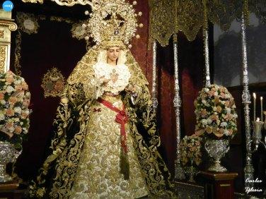 Veneración a la Virgen de Gracia y Esperanza de San Roque // Carlos Iglesia