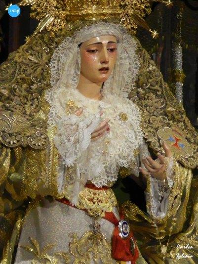 Veneración a la Virgen de la Esperanza de la Trinidad // Carlos Iglesia