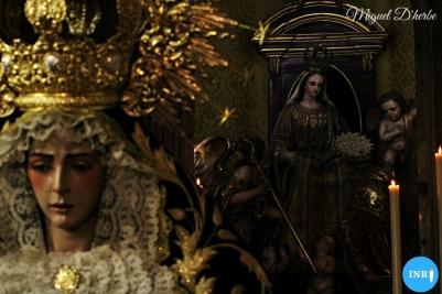Veneración de la Virgen del Rocío de la Redención // Miguel D'herbe