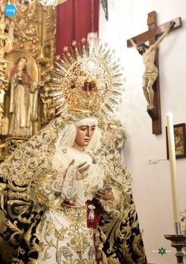 Veneración de la Virgen de la Esperanza de Triana // Ángela Vilches
