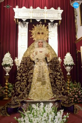 Veneración a la Virgen de la O // Ángela Vilches