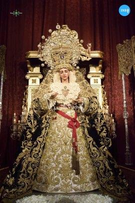 Veneración a la Virgen de Gracia y Esperanza de San Roque // Ángela Vilches
