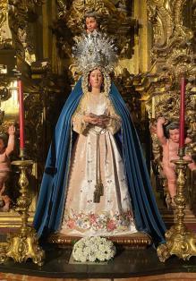 Saya de la Virgen del Voto de Pasión