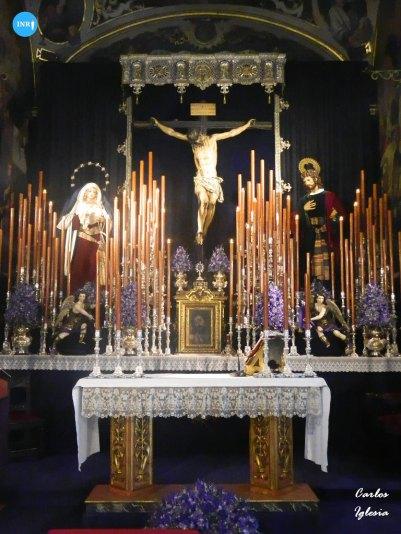 Quinario y veneración del Cristo de la Fundación de los Negritos // Carlos Iglesia
