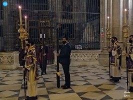 Viacrucis de las hermandades presidido por el Cristo de la Corona // Carlos Iglesia