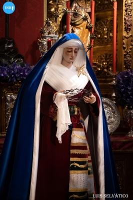 Veneración de la Virgen de la Soledad de San Lorenzo // Luis Selvático