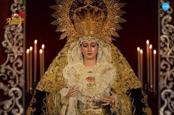 Veneración de los titulares de la Virgen de la Palma y Cristo del Buen Fin // Benito Álvarez