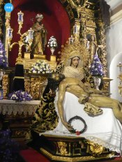 Veneración al Cristo de la Misericordia y la Virgen de la Piedad del Baratillo // Carlos Iglesia