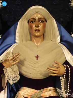 Virgen de la Esperanza Macarena de hebrea // Carlos Iglesia