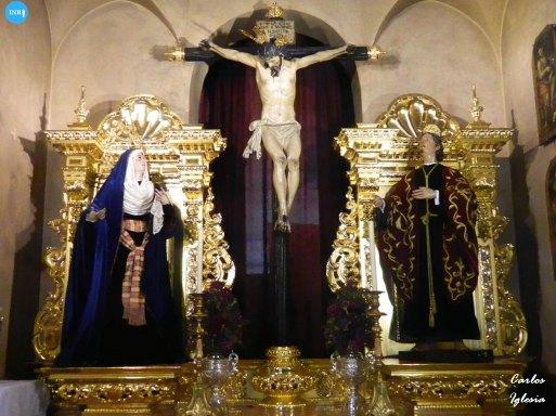 Retablo de las Siete Palabras en su tercera fase // Carlos Iglesia