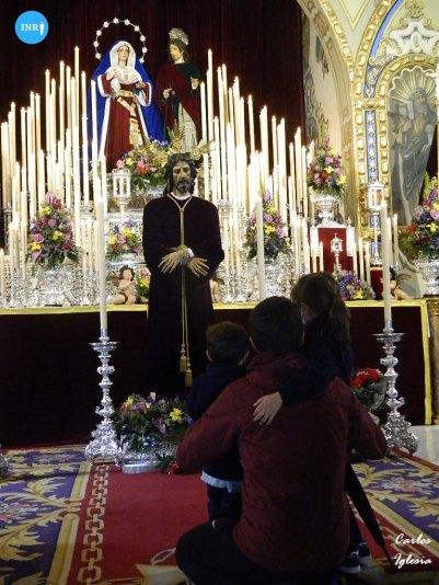 Veneración del Señor Cautivo de Santa Genoveva // Carlos Iglesia