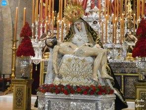 Veneración de la Virgen de los Dolores de los Servitas // Carlos Iglesia